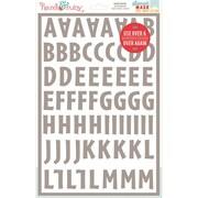 "Hazel & Ruby® 12"" x 8"" Stencil Mask® Peel Away Alphabet Stencil Sheet, Brooklyn"
