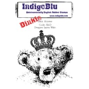 "Indigoblu 4"" x 4"" A7 Red Rubber Cling Mounted Stamp, Baby Aloysius-Dinkie"