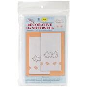 "Jack Dempsey 17"" x 28"" Stamped White Decorative Hand Towel, Halloween"
