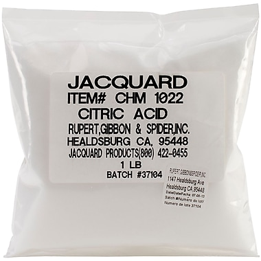 Jacquard CHM1022 White Products Citric Acid, 5.5
