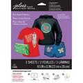Jolees® Easy Image® 11in. x 8 1/2in. Transfer Paper For Dark Fabric, Glitter