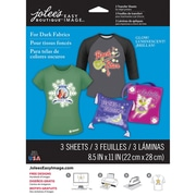 "Jolees® Easy Image® 11"" x 8 1/2"" Transfer Paper For Dark Fabric, Glow in the Dark"