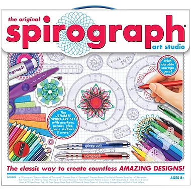 Kahootz Spirograph Art Studio Kit, 15