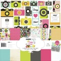 Kaisercraft 12in. x 12in. Paper Pack, Happy Snaps