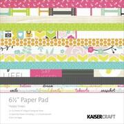 Kaisercraft 6 1/2 x 6 1/2 Paper Pad, Happy Snaps