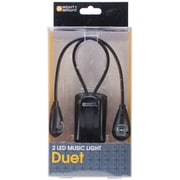 Mighty Bright® Duet LED Music Light, Black