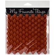 "My Favorite Things 6"" x 6"" Background Cling Rubber Stamp, Star"