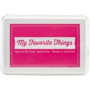 """My Favorite Things 3 3/8"""" x 2 1/8"""" Hybrid Ink Pad, Razzle Berry"""