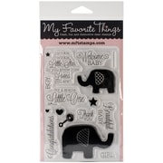 "My Favorite Things Lisa Johnson Designs 4"" x 6"" Stamp Set, Beautiful Baby"