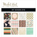 My Mind's Eye 6in. x 6in. Paper Pad, Market Street Ashbury Heights