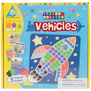 ORB Factory My First Sticky Mosaics® Vehicle Kit