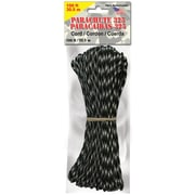 "Pepperell 3 mm x 100' Parachute Cord, 11"" x 3.8"" x 1.2"", Army Camo"