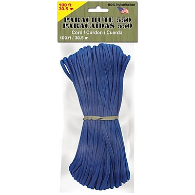 Pepperell 4 mm x 100' Parachute Cord, 11.5