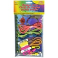 Pepperell Super Value Pack 15' Bungee Cord Kit, 12.5in. x 7.6in. x 1in., Assorted Neon