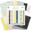 "Pink Paislee 12"" x 12"" Paper Pad, Hello Sunshine"