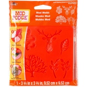 Plaid:Craft MP248-25132 Mod Podge Mod Molds Mystical Forest