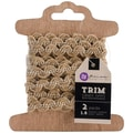 Prima Marketing™ 1/2in. x 2 Yards Stitched Burlap & White Assortment Trim
