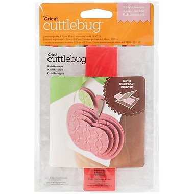 Provo Craft Cuttlebug A2 Embossing Folder/Border Set, Kaleidoscope