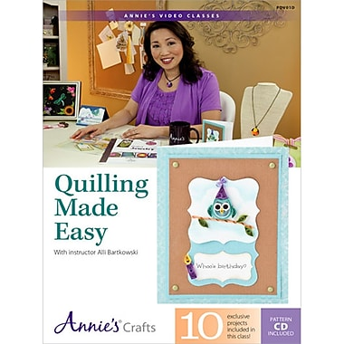 Quilled Creations Quilling Made Easy DVD