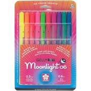 Sakura® Blister Card Gelly Roll® Moonlight® 06 Fine Point Gel Ink Pen Set, ASRTD Colors