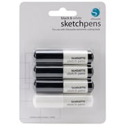 Silhouette SILHPEN Black/White Sketch Pen