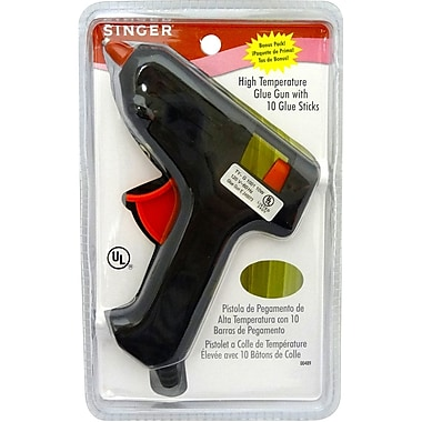 Singer High Temperature Permanent Glue Gun with Glue Sticks