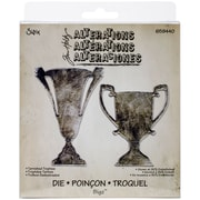 "Sizzix® Bigz Die, 5.5"" x 6"", Tarnished Trophies"