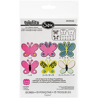 Sizzix® Triplits Die Set, Butterfly