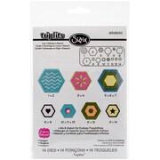 Sizzix® Triplits Die Set, Hexagon