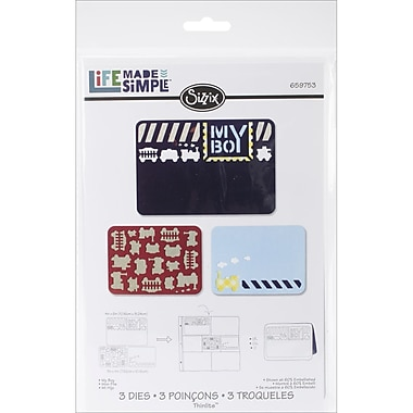 Sizzix® Thinlits Die Set, My Boy
