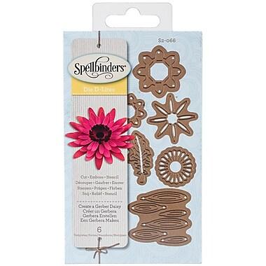 Spellbinders® Shapeabilities® Die D Lites™ Die Templates, Create A Gerber Daisy