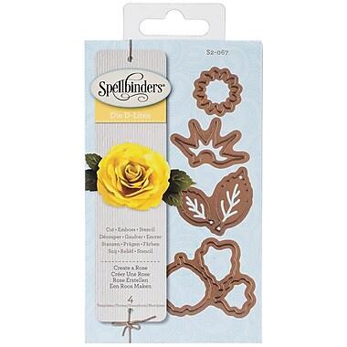 Spellbinders® Shapeabilities® Die D Lites™ Die Templates, Create A Rose