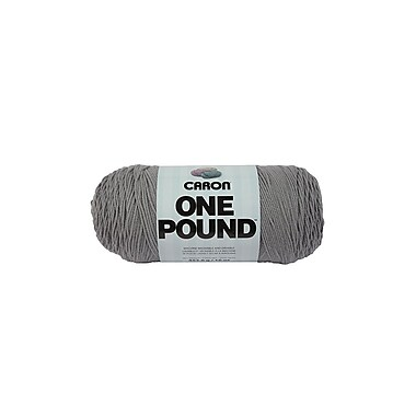 Spinrite® Caron® One Pound™ Acrylic Yarn, Grey