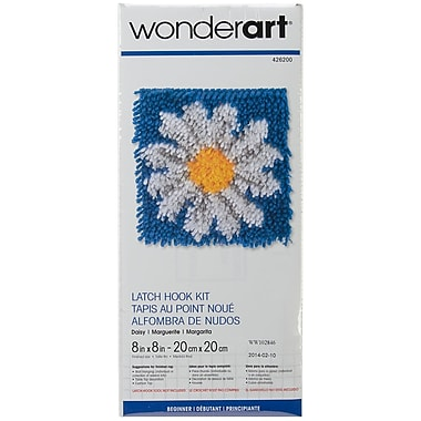 Spinrite® Wonderart Latch Hook Kit, 8