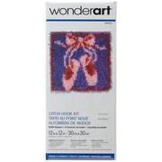 """Spinrite® 12"""" x 12"""" Wonderart Latch Hook Kit"""