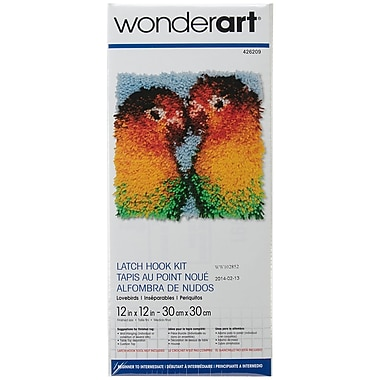 wonderart latch hook instructions