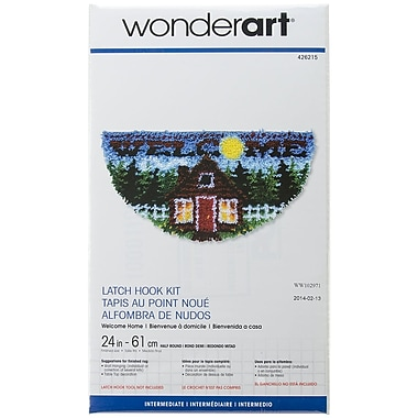 Spinrite® Wonderart Latch Hook Kit, 24