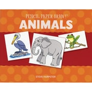 "Sterling Publishing ""Pencil, Paper, Draw!®: Animals"" Book"