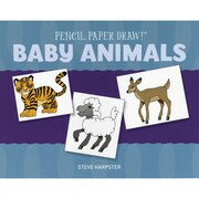 """Sterling Publishing """"Pencil, Paper, Draw!®: Baby Animals"""" Book"""