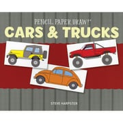 """Sterling Publishing """"Pencil, Paper, Draw!®: Cars & Trucks"""" Book"""
