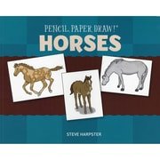 """Sterling Publishing """"Pencil, Paper, Draw!®: Horses"""" Book"""