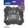 Sticko Chalk Sticker, Girl