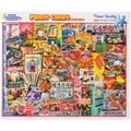 White Mountain 550-Pieces Jigsaw Puzzle, 18in. x 24in., Penny Candy