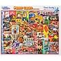 White Mountain 550-Pieces Jigsaw Puzzle, 18 x 24,