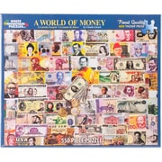 "White Mountain 550-Pieces Jigsaw Puzzle, 18"" x 24"", World Of Money"