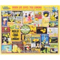 White Mountain 1000-Pieces Jigsaw Puzzle, 24in. x 30in., When Life Gives You Lemons