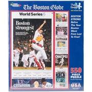 """White Mountain 550-Pieces Jigsaw Puzzle, 18"""" x 24"""", Boston Strongest"""