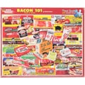 White Mountain 1000-Pieces Jigsaw Puzzle, 24in. x 30in., Bacon 101