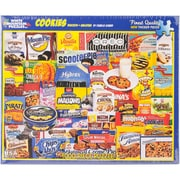 """White Mountain 1000-Pieces Jigsaw Puzzle, 24"""" x 30"""", Cookies"""