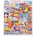 White Mountain 1000-Pieces Jigsaw Puzzle, 24in. x 30in., Squeaky Clean